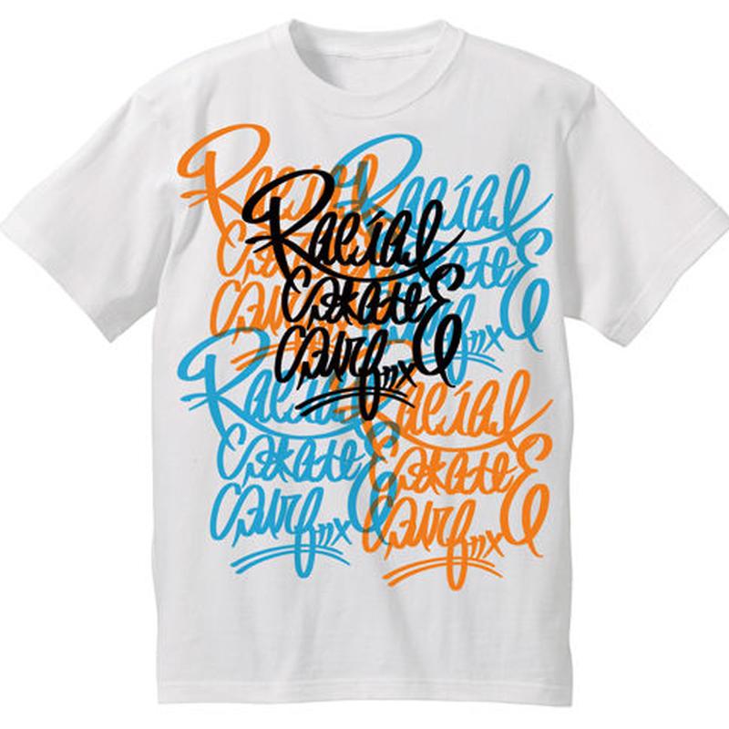 RACIAL コローレ Tシャツ(ホワイト)