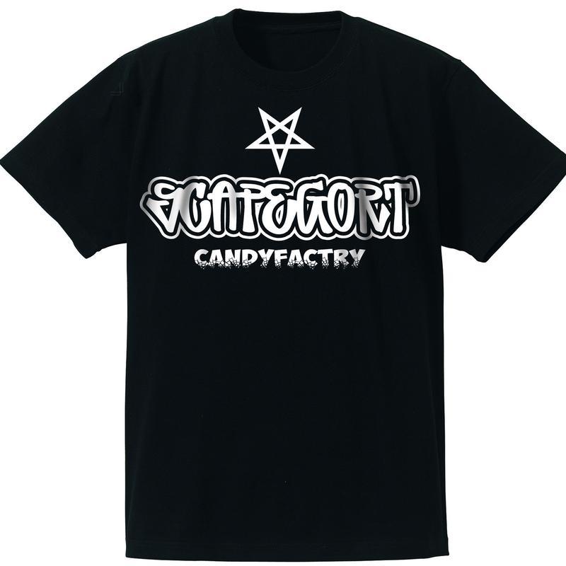 S★CF TシャツNoSC-01 ブラック