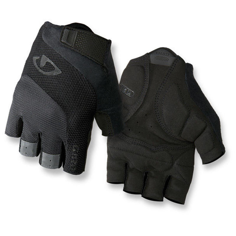 軽くて快適な万能モデル GIRO CYCLING GLOVES  BRAVO GEL Black