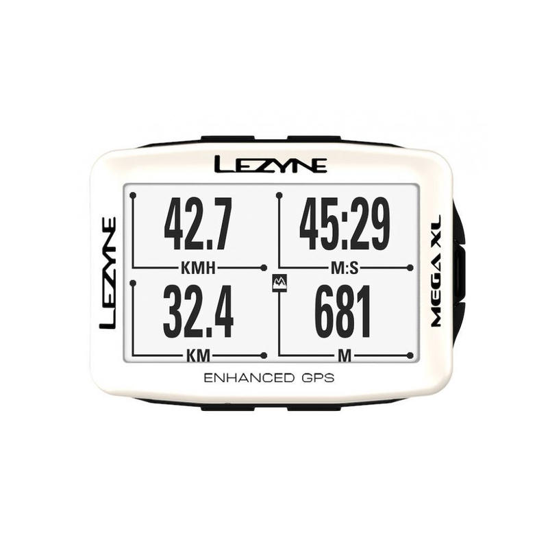 LEZYNE MEGA XL GPS 2019 SPECIAL EDITION  ホワイト
