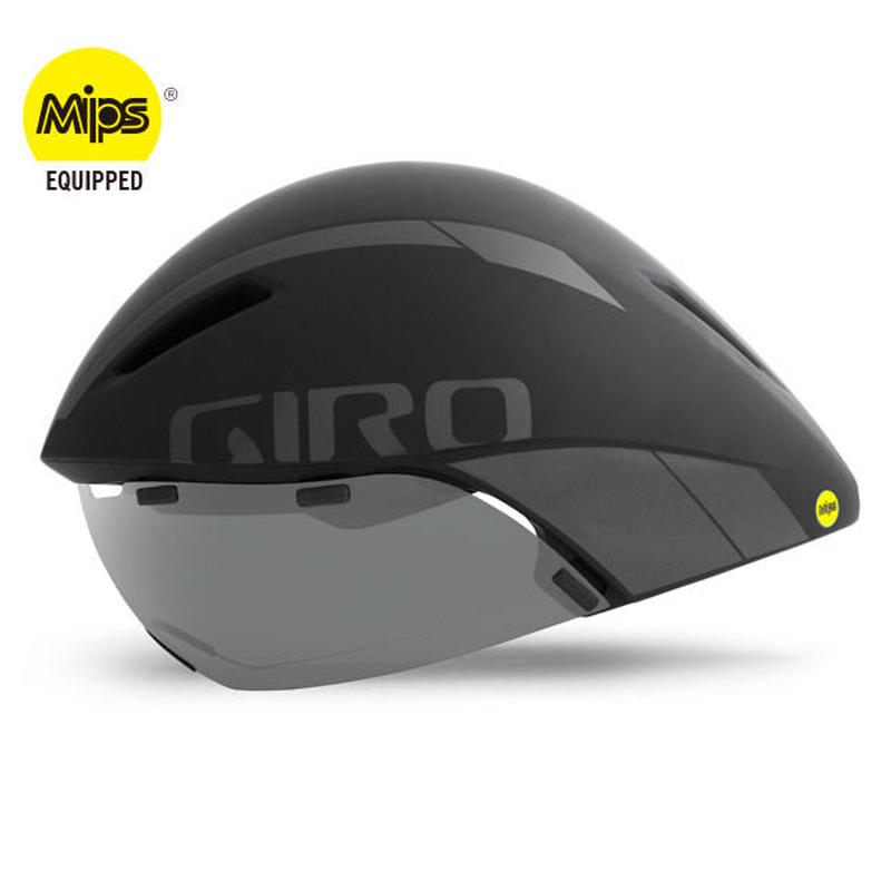 GIRO AEROHEAD MIPS Matte Black / TITANIUM クールなままで時間に挑む トライアスロンやロングTT向けモデル