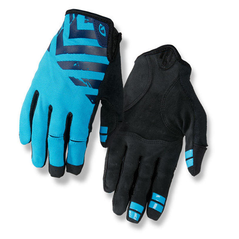 GIRO DND CYCLING GLOVES Midnight / Blue / Black