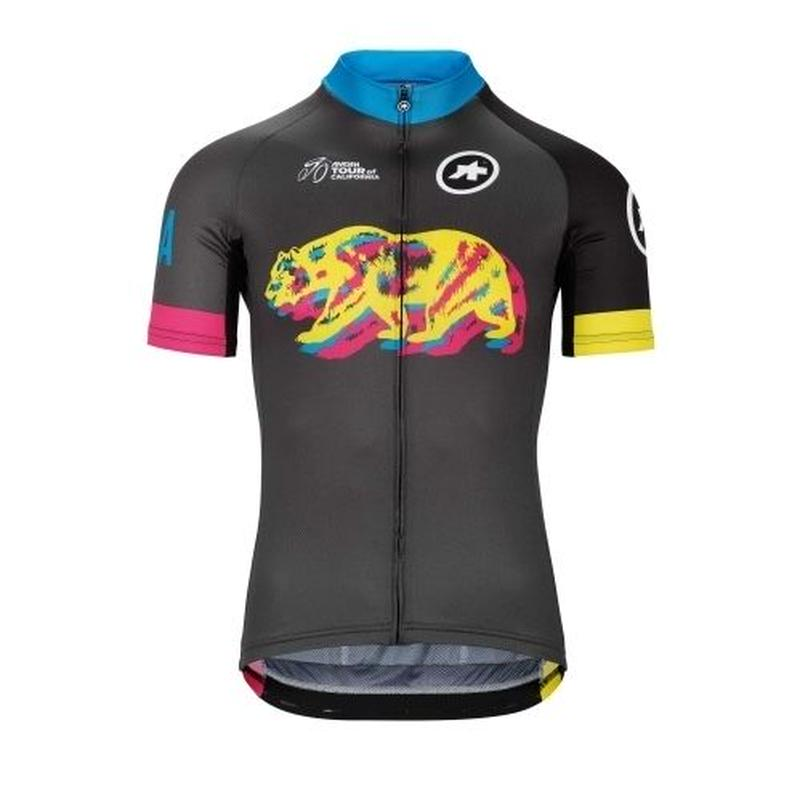 ASSOS    TOUR OF CALIFORNIA 2019 NEON LIMITED EDITION SS JERSEY   Mサイズ