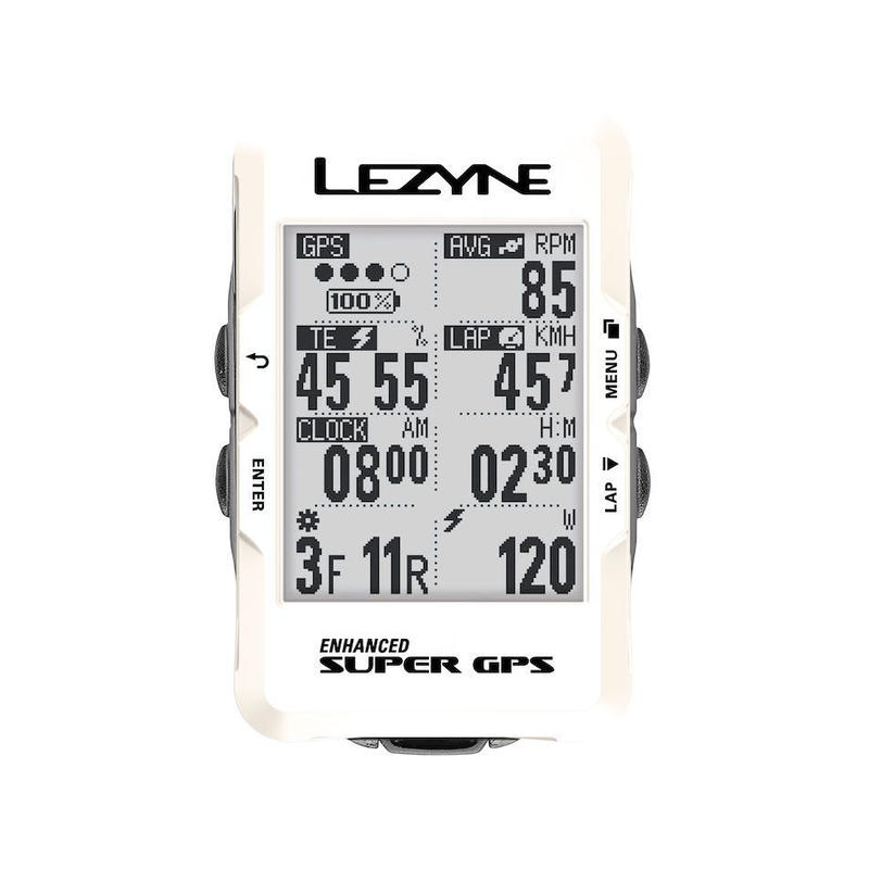 LEZYNE SUPER GPS 2019 SPECIAL EDITION ホワイト