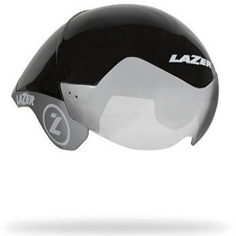 LAZER Wasp Air Black Silver Sサイズ (52 ~ 56cm) JCF 公認 定価 ¥47,520-   長期展示品のため、傷あり。