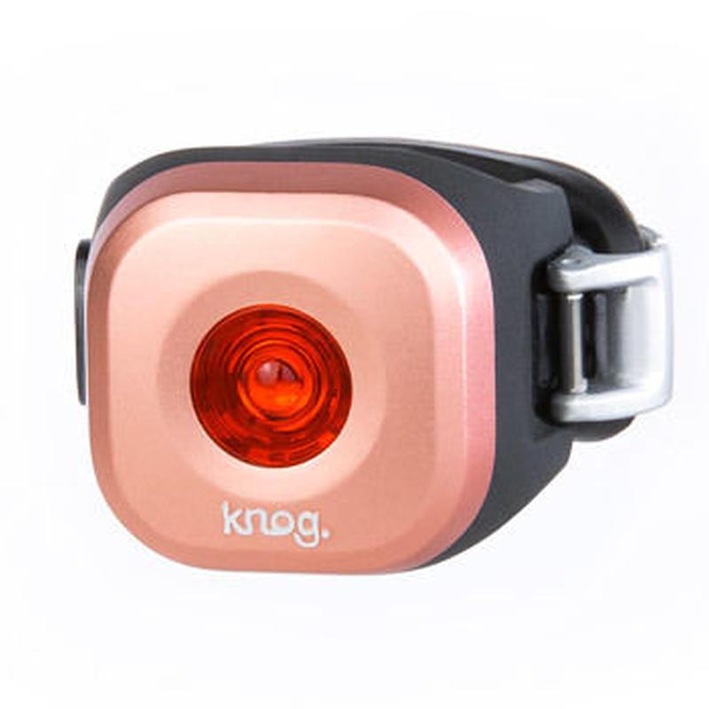 Knog  Blinder MINI DOT REAR COPPER 3つの照射角度に合わせて選べるコンパクト LEDライト