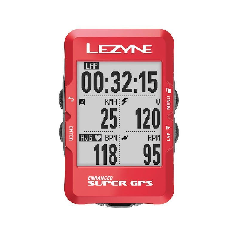 LEZYNE SUPER GPS 2019 SPECIAL EDITION メタリックレッド
