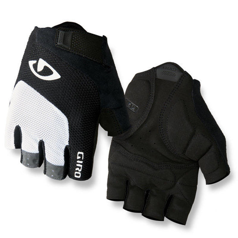 軽くて快適な万能モデル GIRO CYCLING GLOVES  BRAVO GEL White