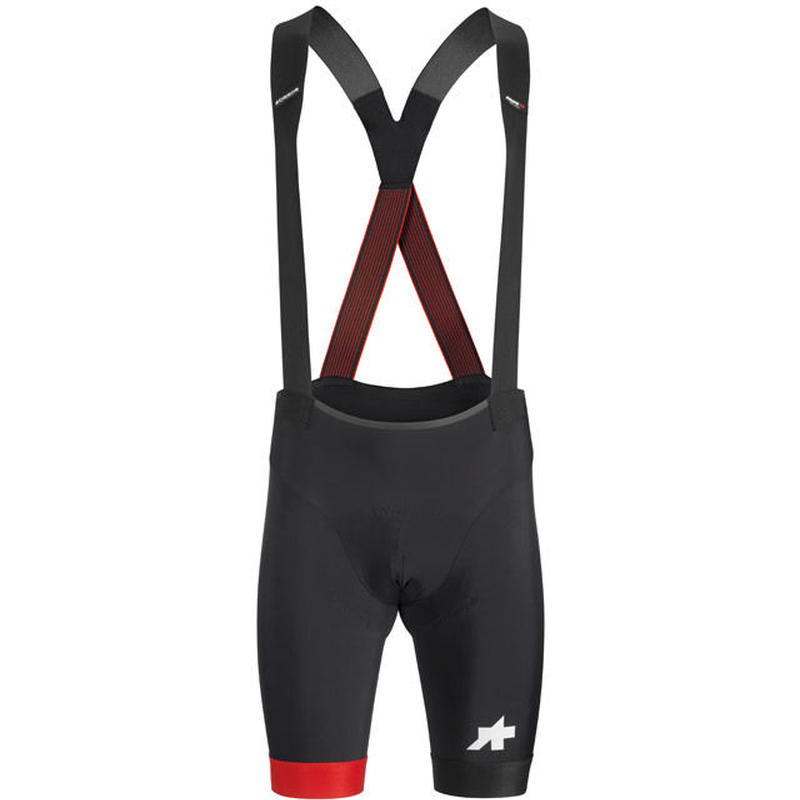 ASSOS EQUIPE RS BIB SHORTS S9 National Red