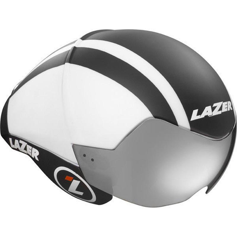 LAZER Wasp Air Matt Black / White  Sサイズ (52 ~ 56cm) JCF 公認定価 ¥47,520- 長期展示品の傷がございます。