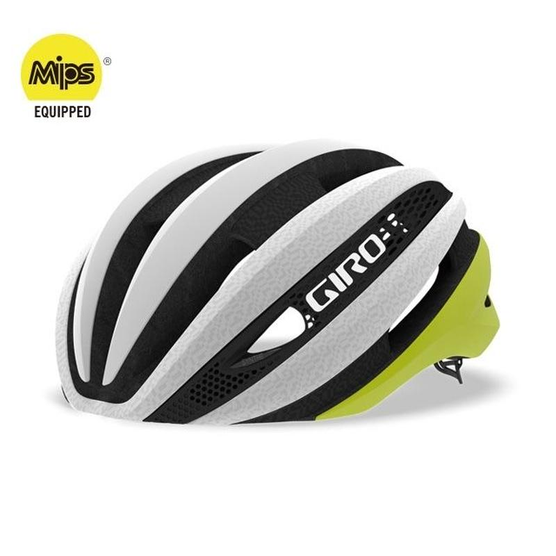 GIRO  SYNTHE MIPS AF  カラー:Matte-Citron-White