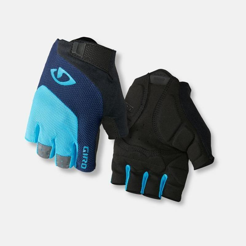 軽くて快適な万能モデル GIRO CYCLING GLOVES  BRAVO GEL BLUE