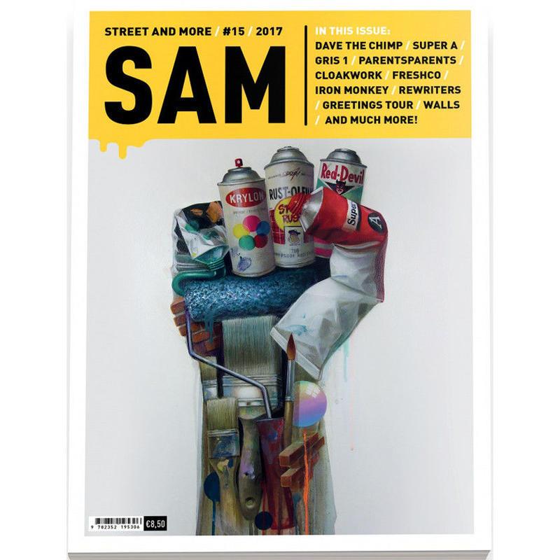 SAM マガジン STREET AND MORE #15