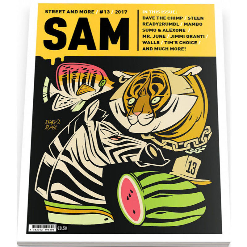 SAM マガジン STREET AND MORE #13