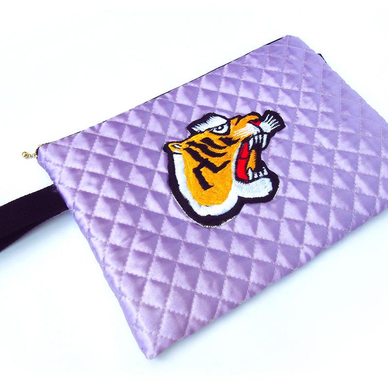 Tiger Clutch BAG(Purple)