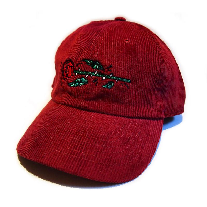 KWROSE CORDUROY 6PANEL CAP