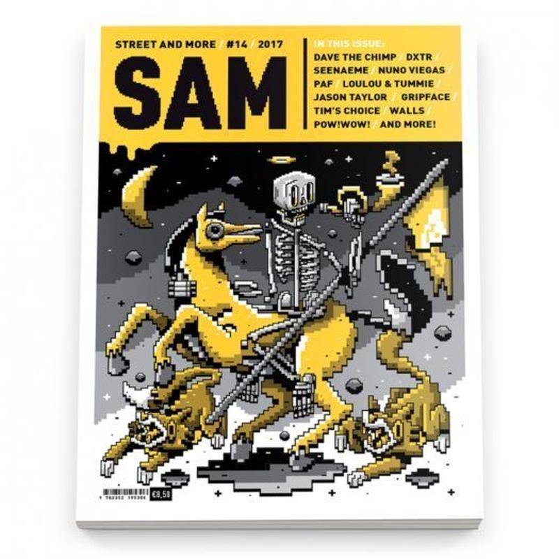 SAM マガジン STREET AND MORE #14