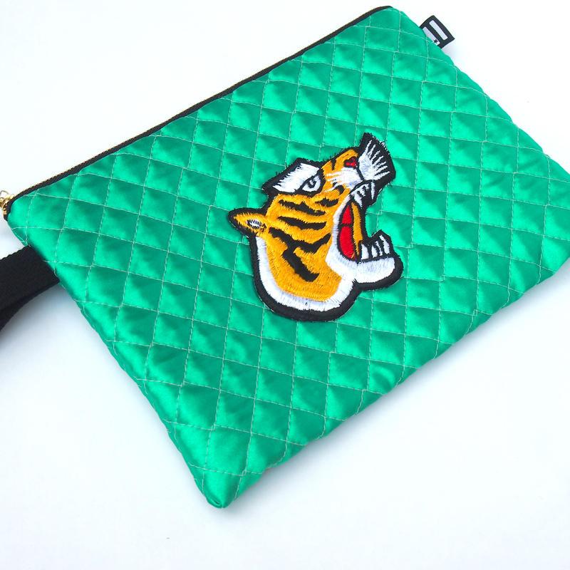 Tiger Clutch BAG(Green)