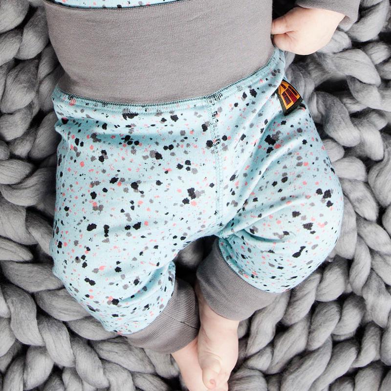 100%オーガニックコットン:Modeerskahuset Leggings- Eggshell