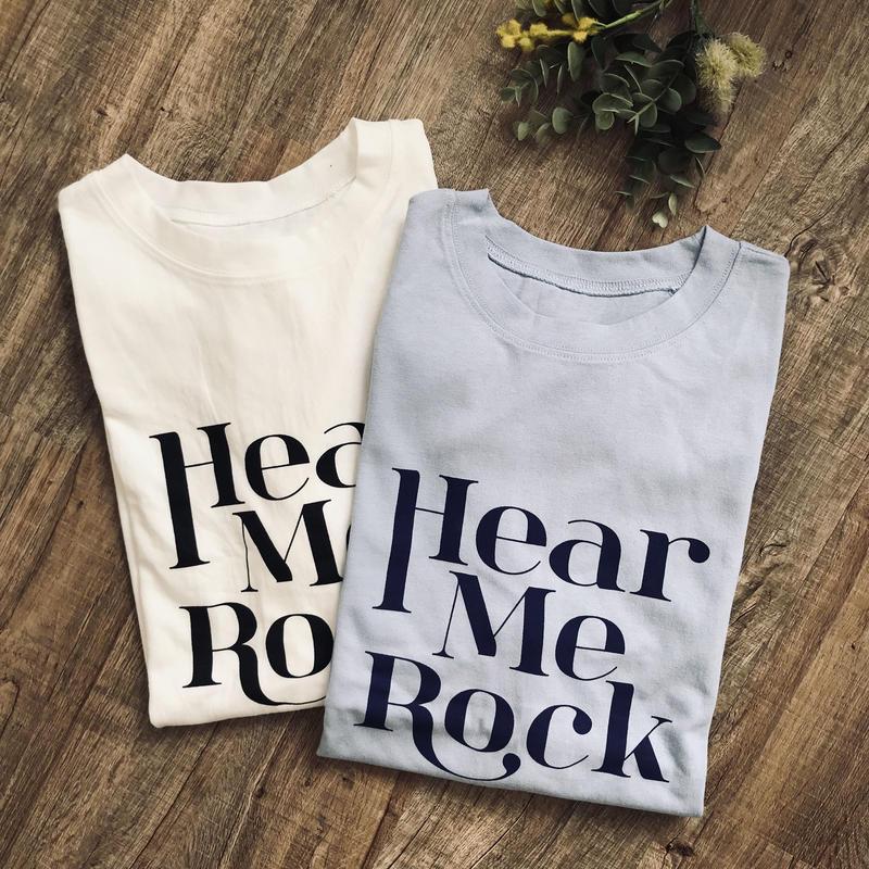 半袖ロゴTシャツ//2colors