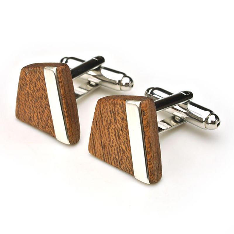 DESIGN Cuffs A 木製カフスA