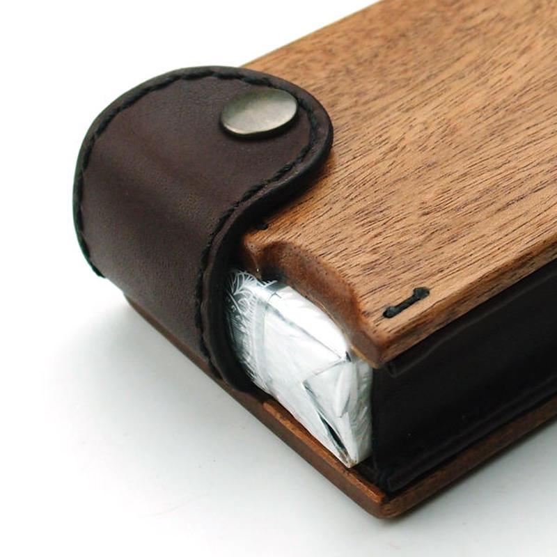 for Cigarettes Soft Long Package/木製タバコケースソフトロング用