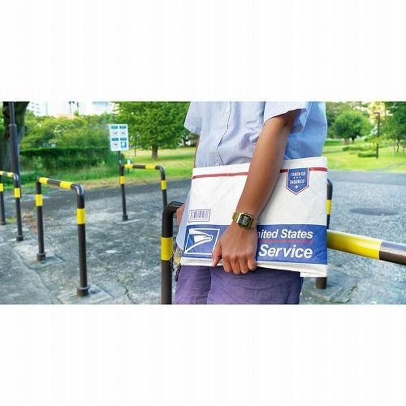 CRAFT CLUTCH BAG  (POSTAL SERVICE) クラフトクラッチバッグ