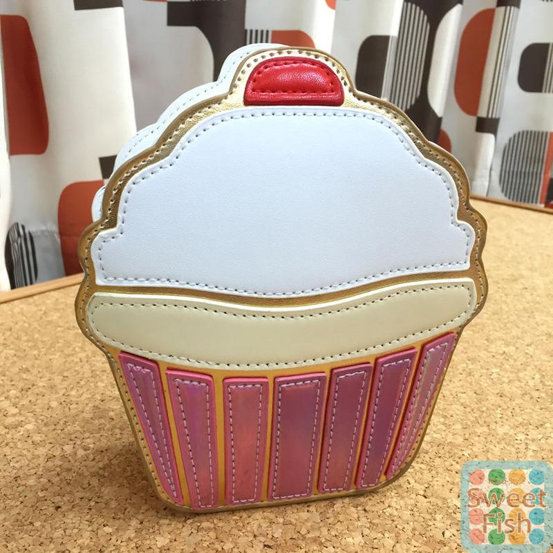 SALE カップケーキ ショルダーバッグ Cupcake shoulder bag