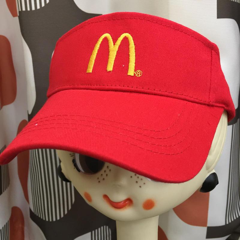 マクドナルド サンバイザー Official McDonald's Goods