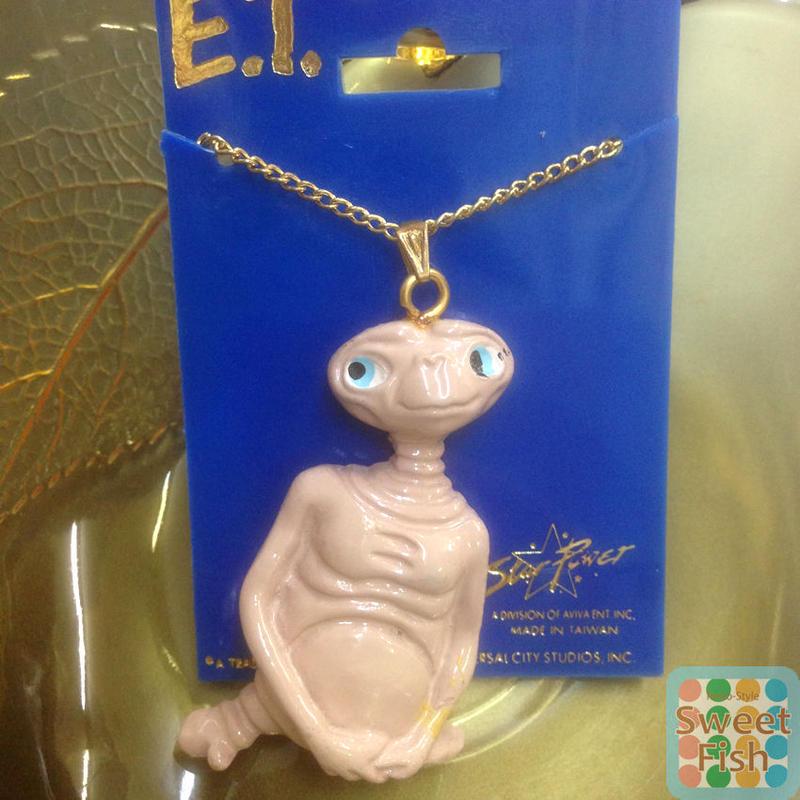 E.T.ネックレス 1982デッドストック ET