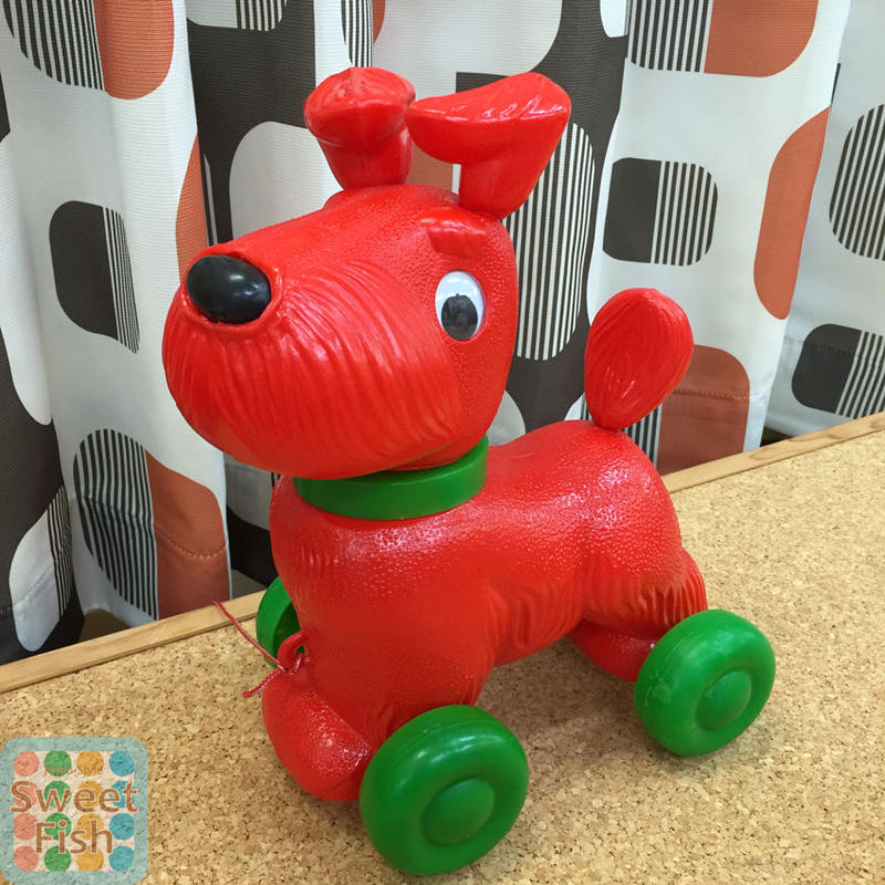 コロコロわんちゃん DOG on Wheels 【kitschkitchen】シュナウザー