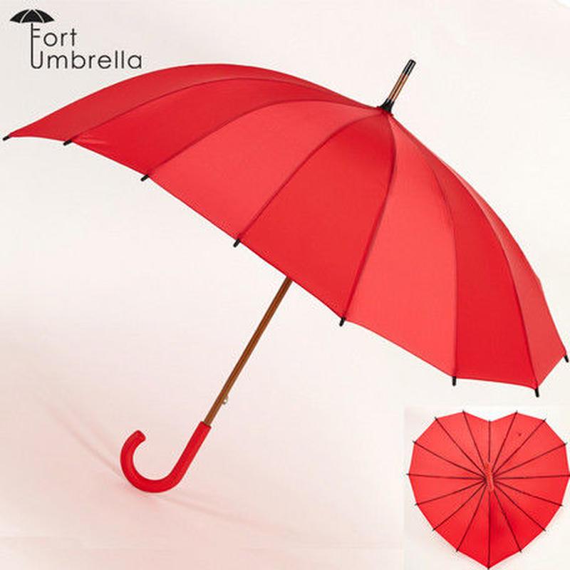 ハート型 アンブレラ 傘