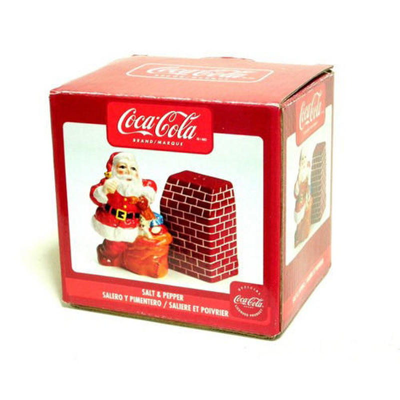 コカ・コーラ ソルト&ペッパー サンタクロース CocaCola