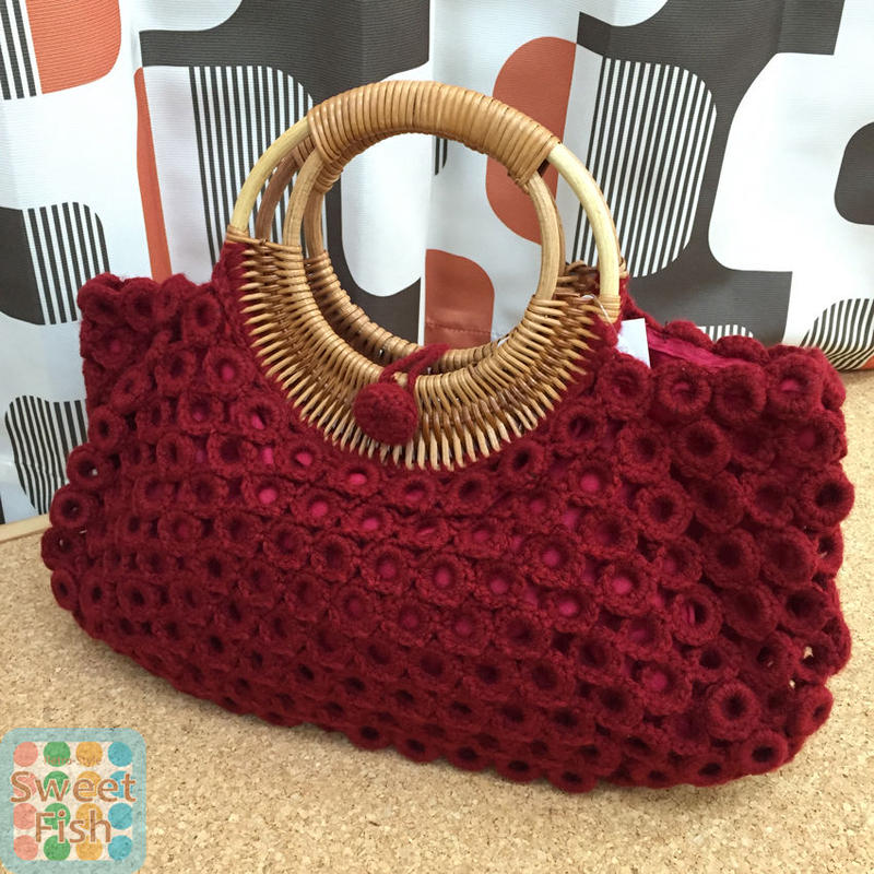 SALE リリアン ウールトートバッグ Wool Tote Bag