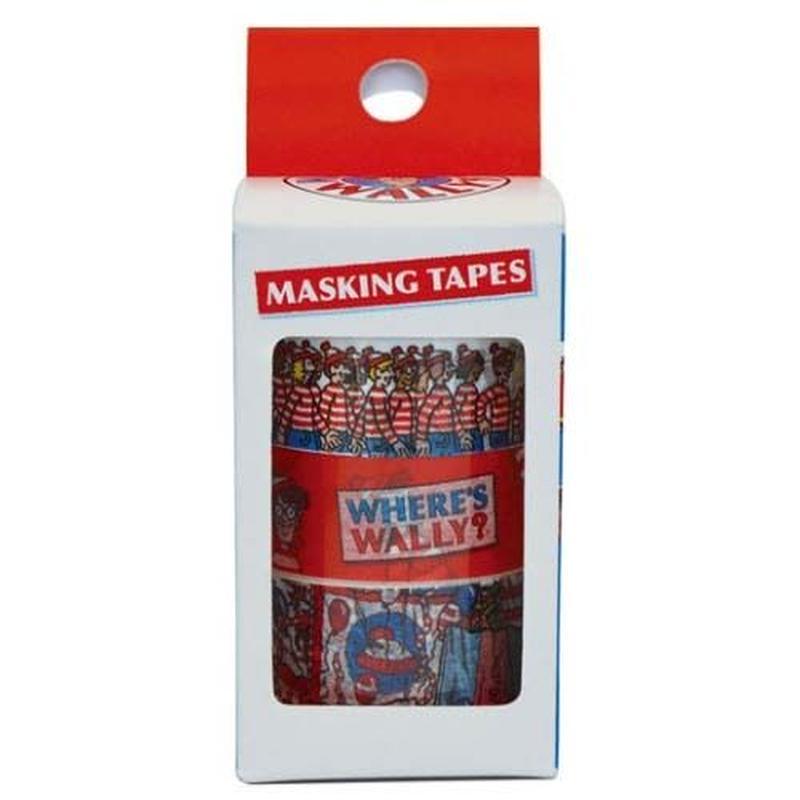 ウォーリー マスキングテープ 3個セット