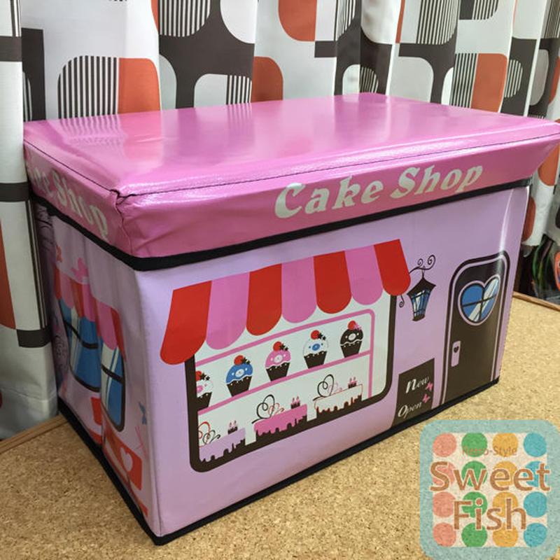 ケーキショップ スツールボックス