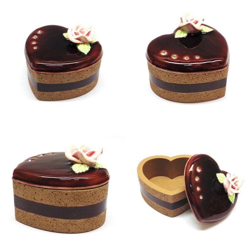 ケーキ型ジュエルケース 小物入れ 4種