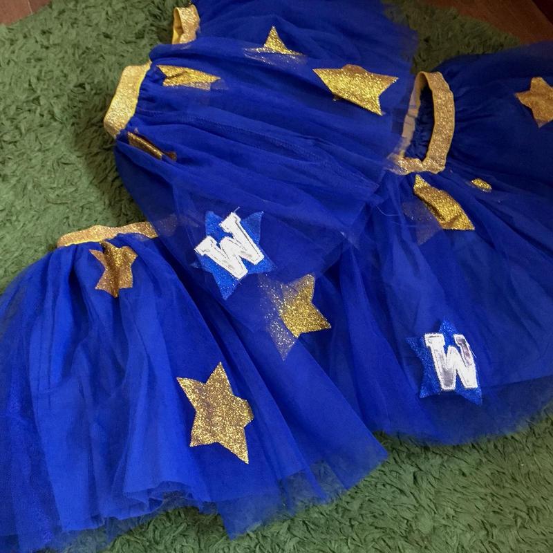 AFL  Star tutu skirt