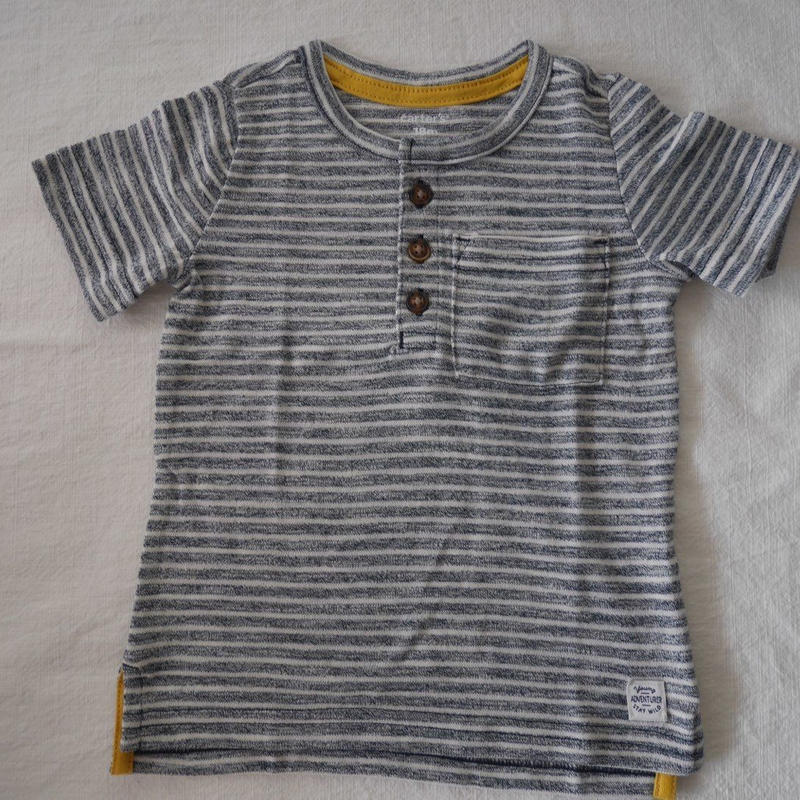【carter's】 Soft cotton Stripe Tshirt
