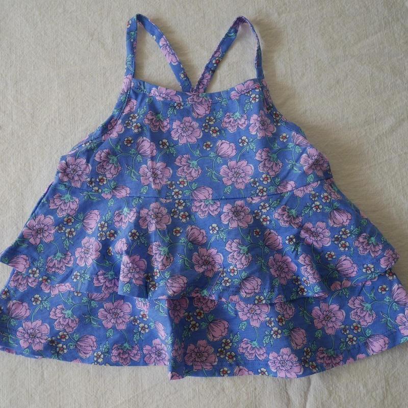 【oshkosh】Girl's Flower  Frill  Cami  Top