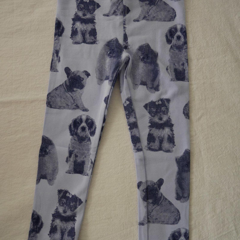 【oshkosh】Girl's  Puppy  Print  Leggings