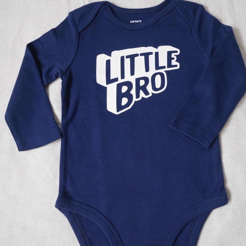 【carter's】Little BRO Bodysuit