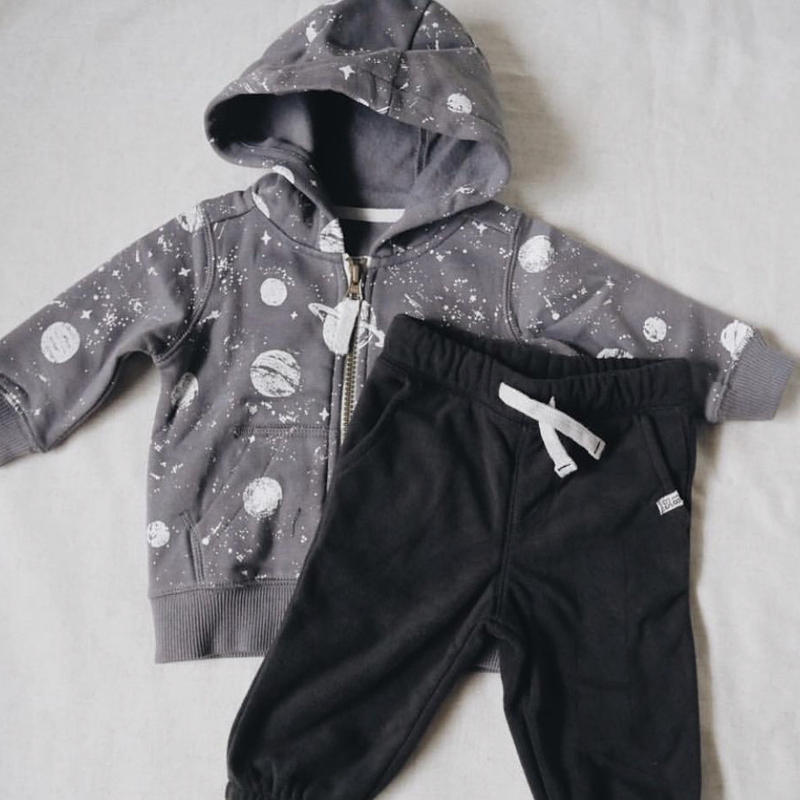 【carter's】Space Gray Foodie