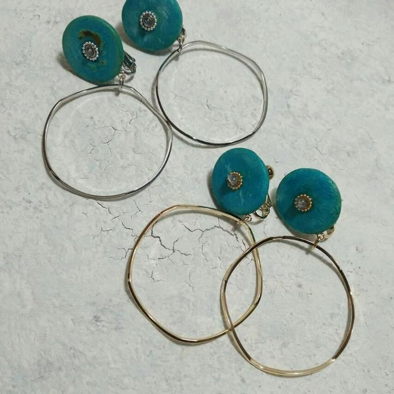 pierces&earring 「COCO 」hoop