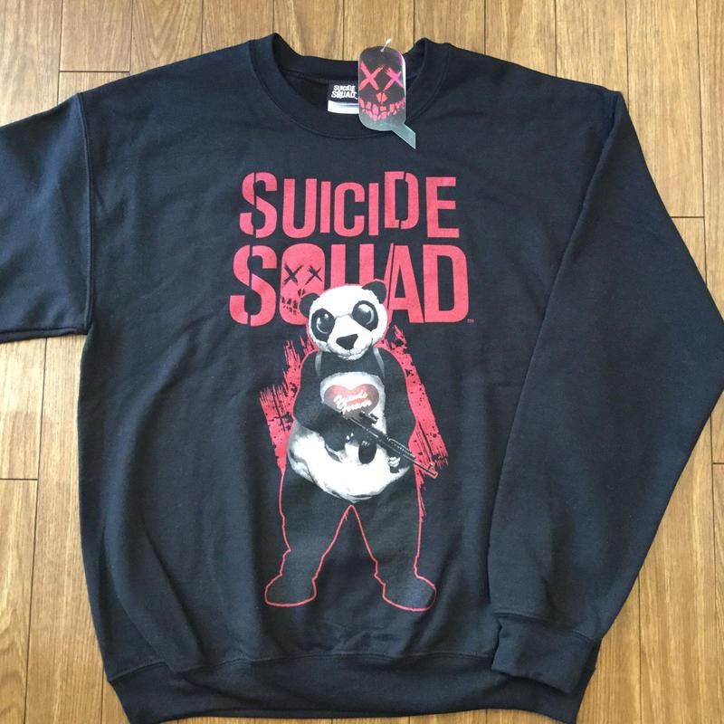 SUICIDE SQUAD PANDA スウェット