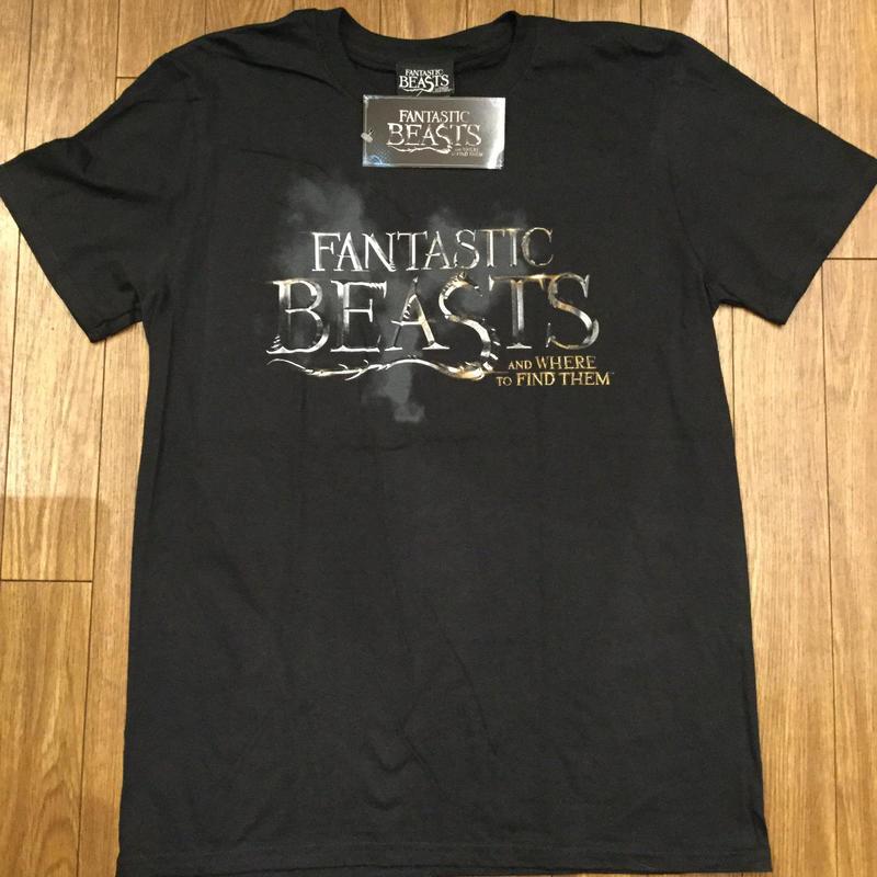 FANTASTIC BEASTS ロゴTシャツ