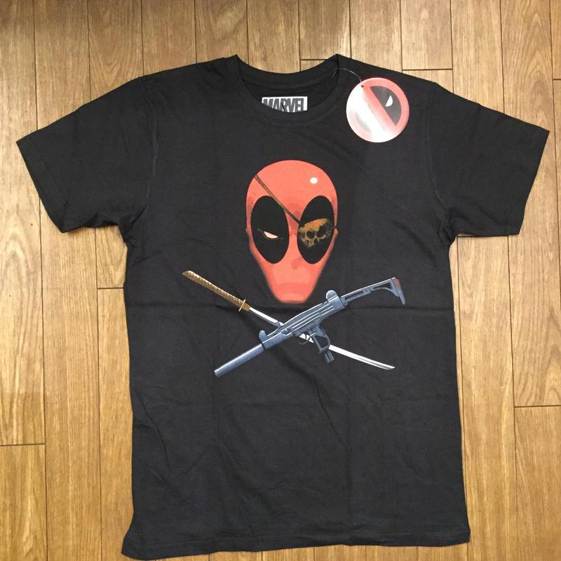 DEADPOOL  CROSS BONES Tシャツ