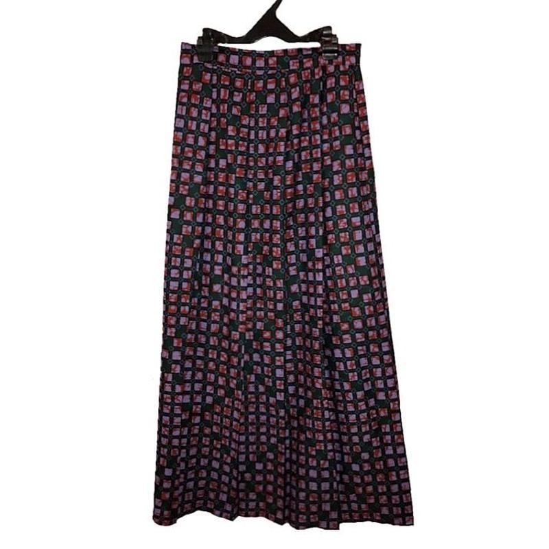 アフリカンプリントロングスカート