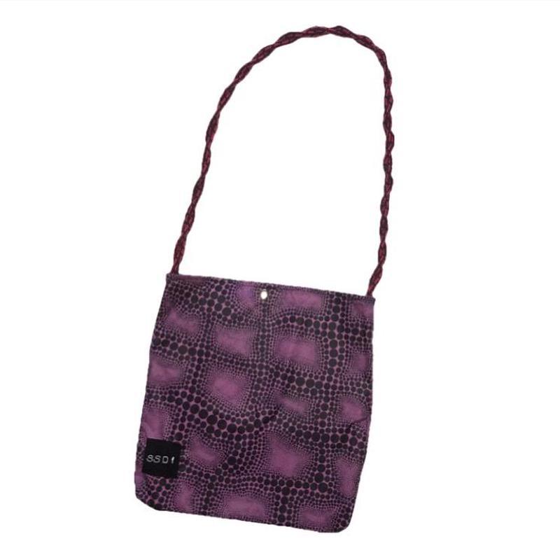 サイケデリック ドット サコッシュバッグ/purple