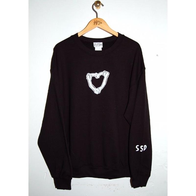 SSD♡bones  sweat bk